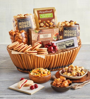 Classic Sweet and Savory Gift Basket