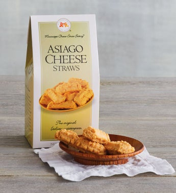 Asiago Cheese Straws