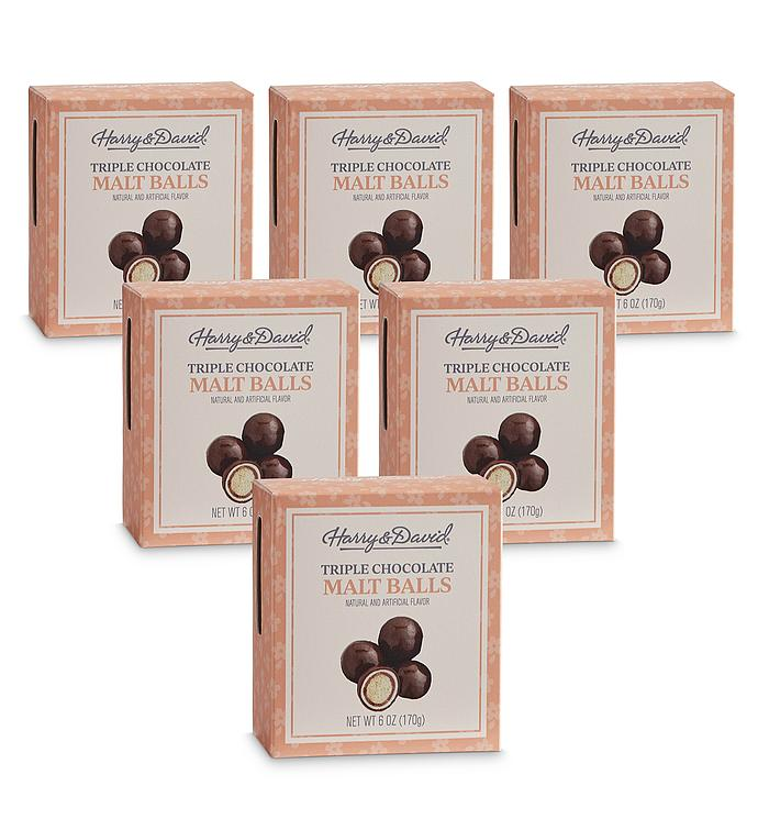 Triple Chocolate Malt Balls – 6 Pack