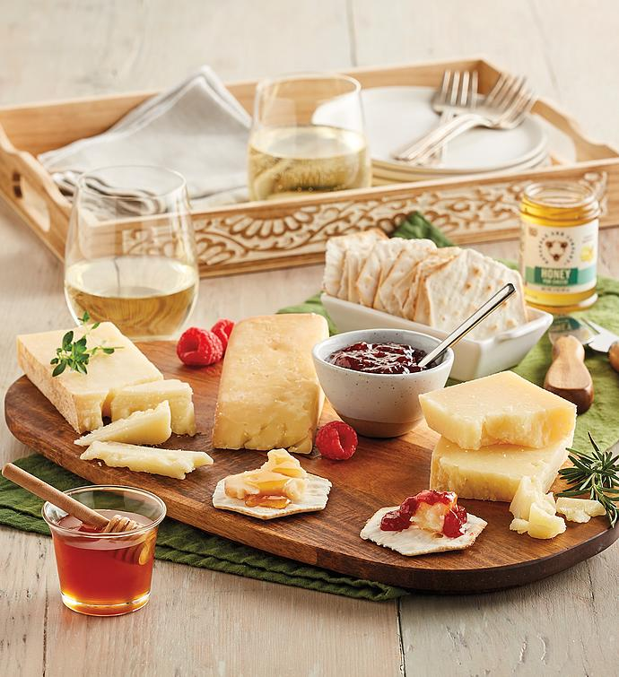 Cheese and Honey Tray