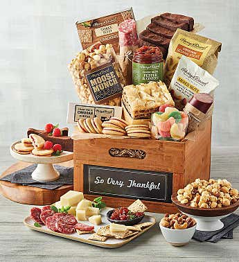 "Deluxe ""So Very Thankful"" Gift Basket"