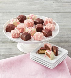 Valentine's Day Petit Fours