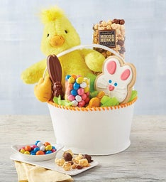 Easter Chick Gift Basket