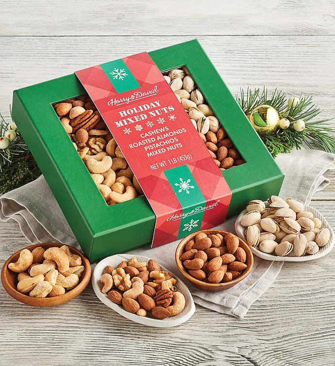 Holiday Favorites Mixed Nuts Collection
