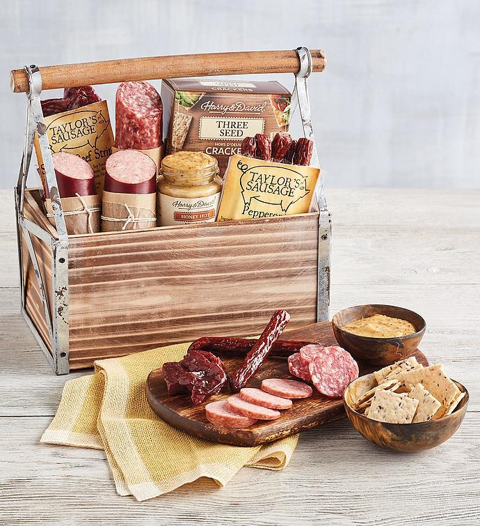 Sausage and Salami Gift Basket