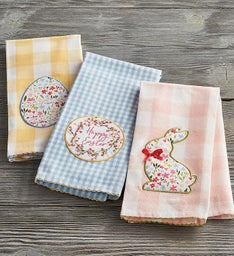 EasterThemed Towels Set of