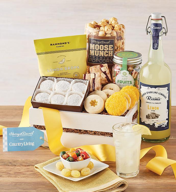 Lemon Treats Gift Crate