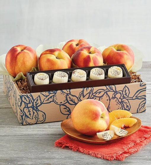 Oregold® Peaches and White Chocolate