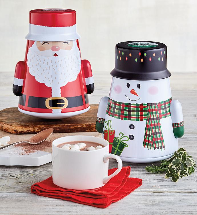 Holiday Wobbling Cocoa Tin Set
