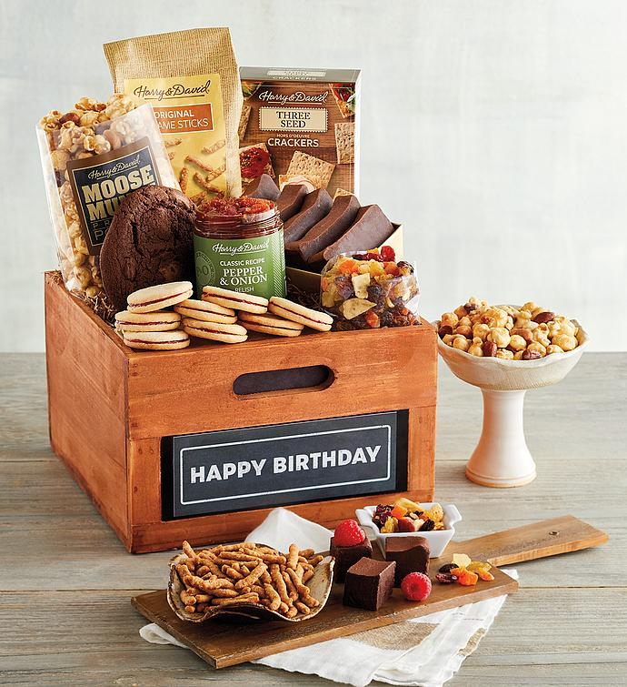 """Happy Birthday"" Gift Basket"