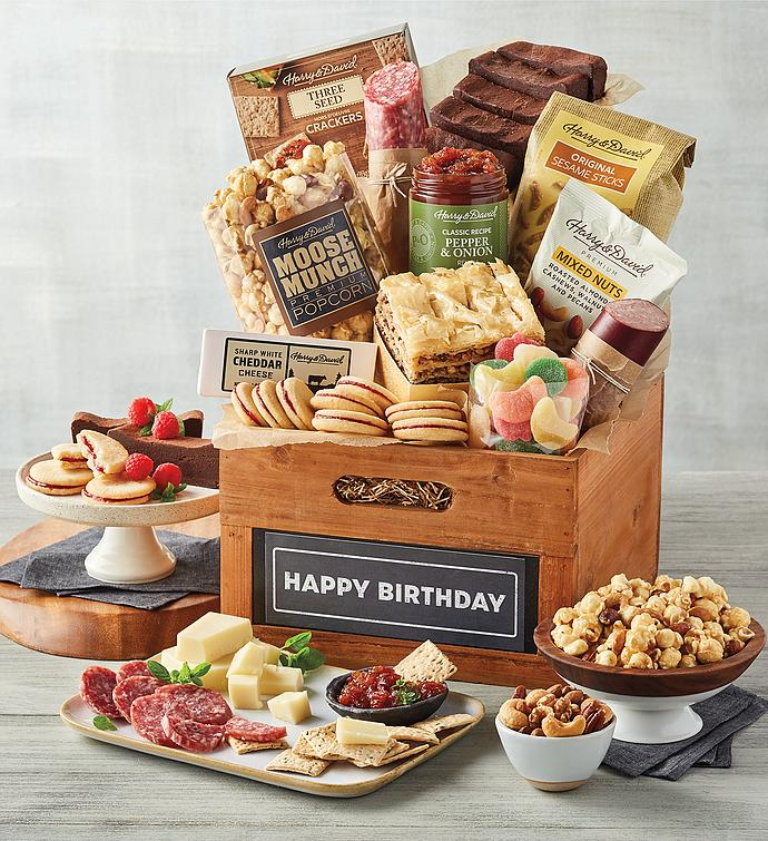 "Deluxe ""Happy Birthday"" Gift Basket"