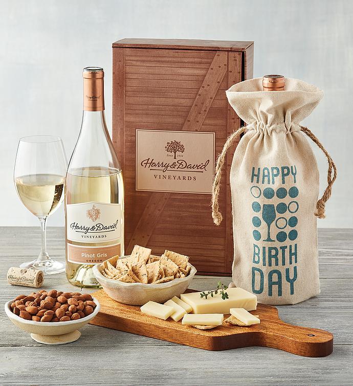 Birthday White Wine Box