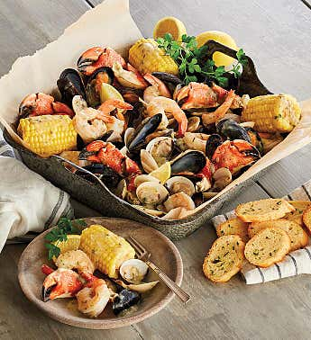 Maine Shore Seafood Bake