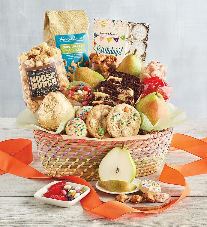 Deluxe Birthday Basket