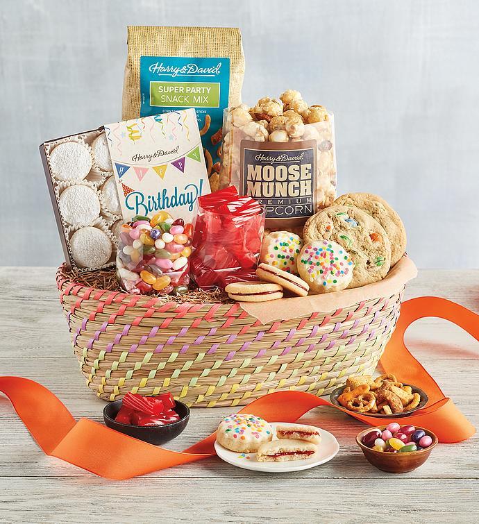 Classic Birthday Basket