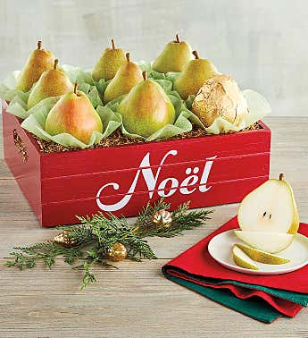 Royal Riviera® Pear Christmas Crate