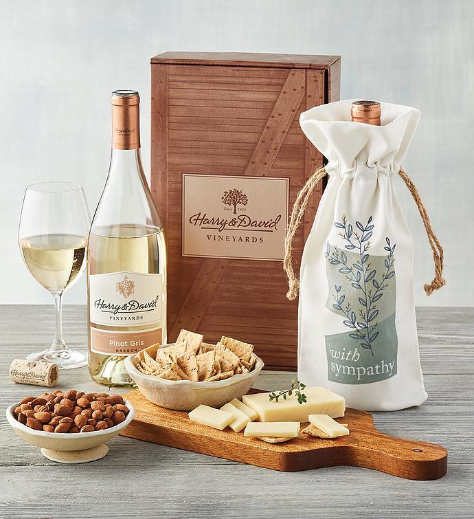 Sympathy White Wine Gift Box