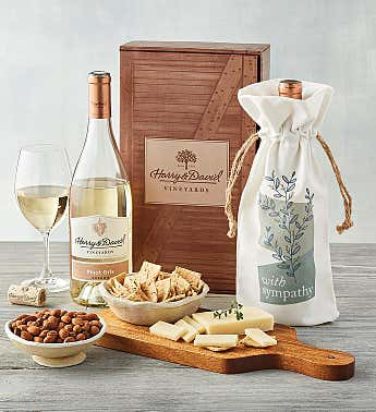 Sympathy White Wine Gift Box
