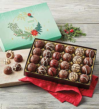 Signature Holiday Truffles