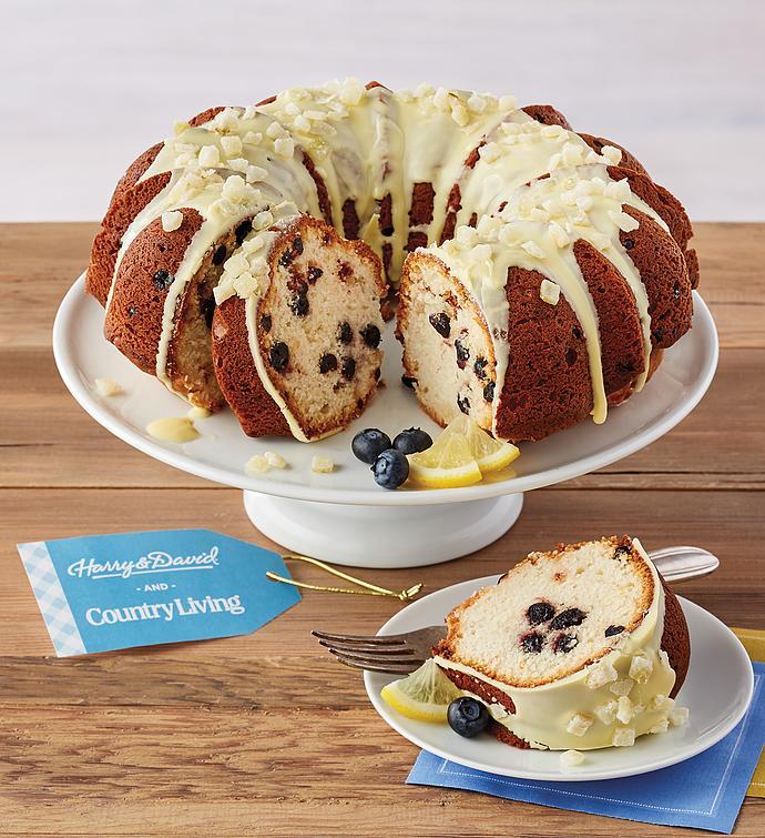 Country Living LemonBlueberry Bundt Cake