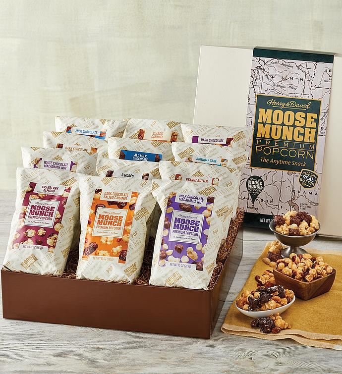 Moose Munch® Premium Popcorn Ultimate Gift Box