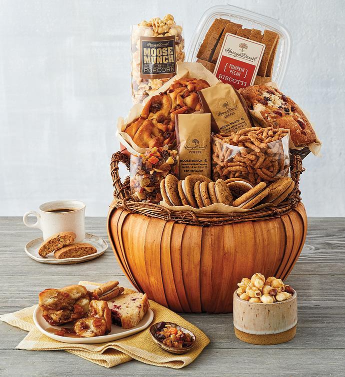 Pumpkin-Shaped Gift Basket