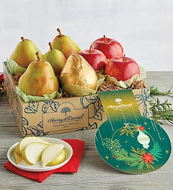 Colors of Christmas Pears and Apples