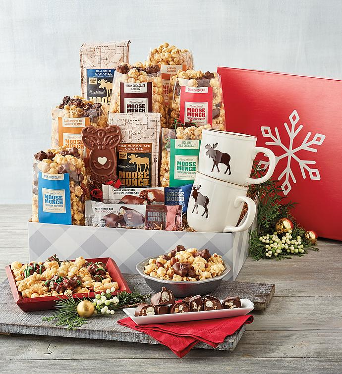 Moose Munch® Premium Popcorn Deluxe Holiday Gift