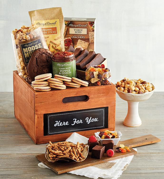 """Here for You"" Gift Basket"