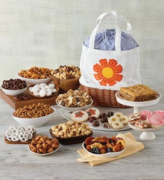 Mothers Day Floral Gift Tote