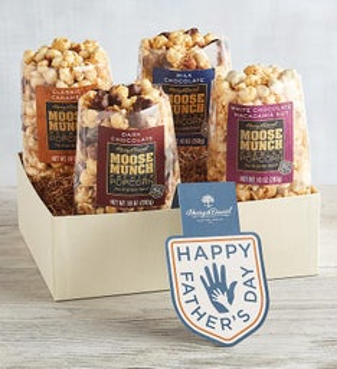 Moose Munch Premium Popcorn Fathers Day Gift Box