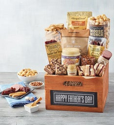 Fathers Day Chalkboard Gift Crate