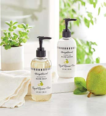Royal Riviera™ Pear Scented Hand Lotion and Soap Set