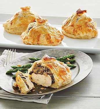 Chicken Wellington Entrées