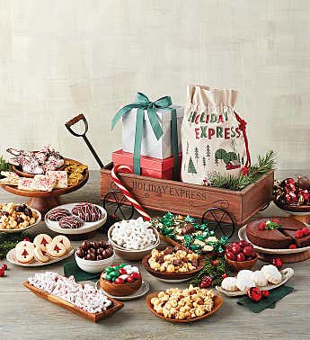 Holiday Sweets Wagon
