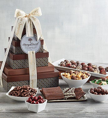 Sympathy Chocolate Tower – Deluxe