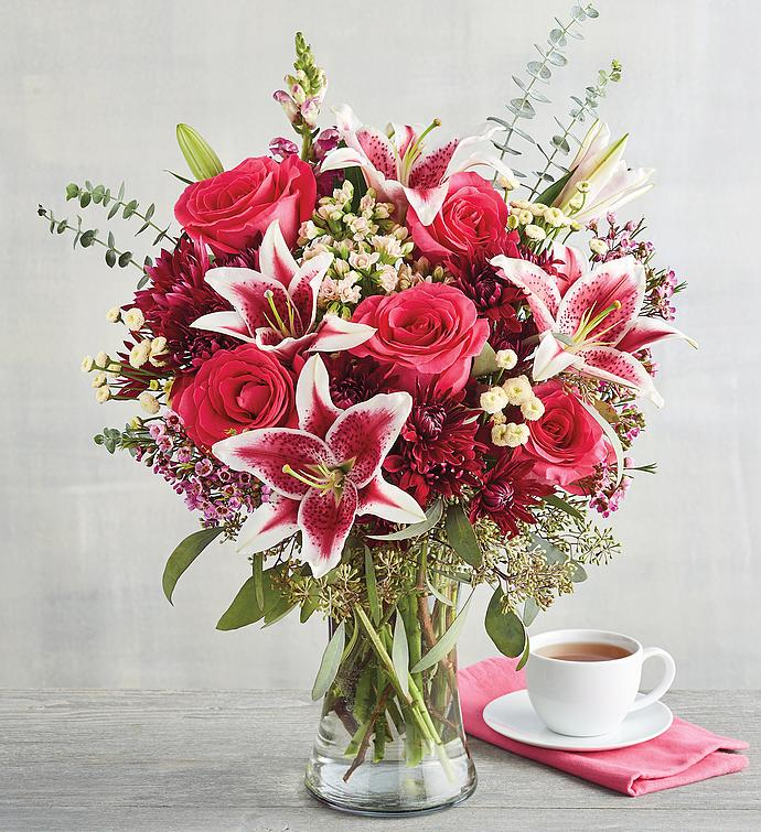 Rose and Mixed Floral Bouquet