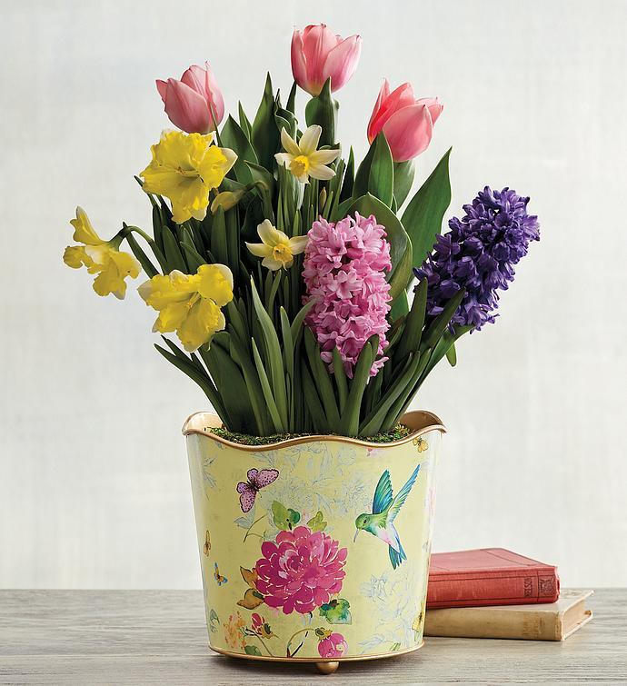 SpringThemed Bulb Garden