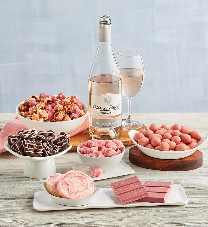 Pink Celebration Wine Gift
