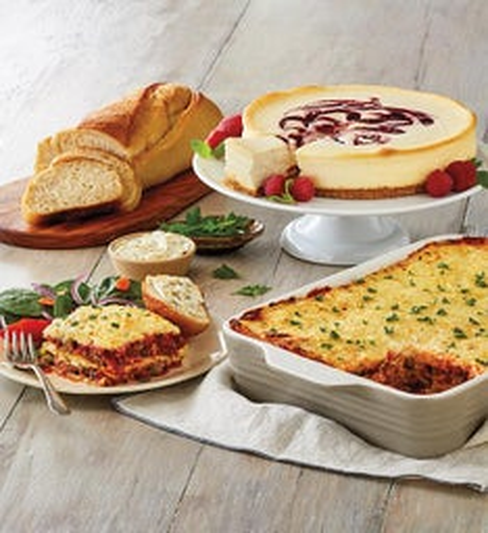Beef and Italian Sausage Lasagna Meal