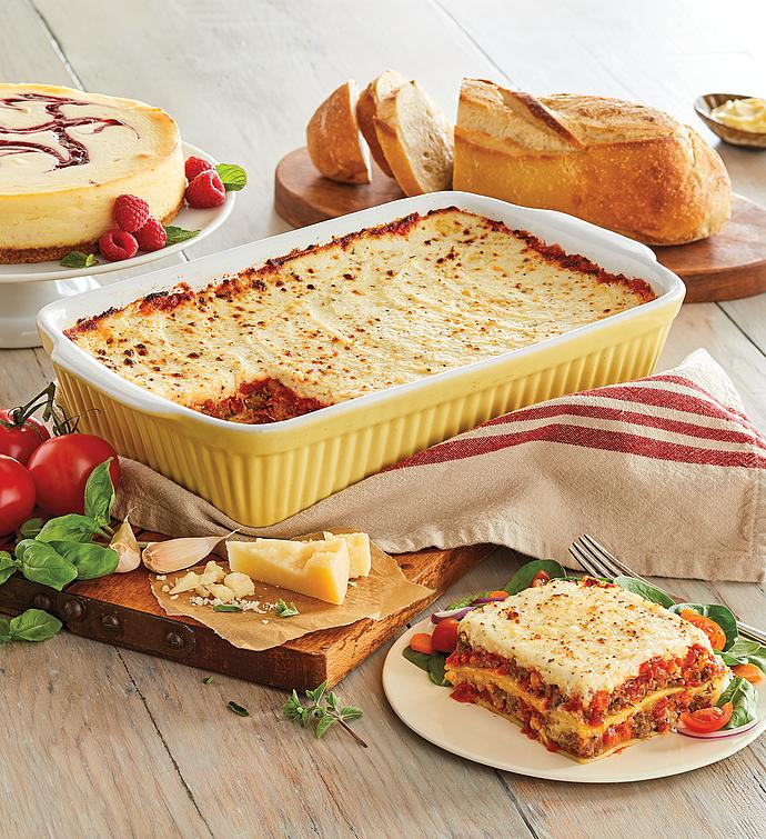 Beef and Italian Sausage Lasagna Meal