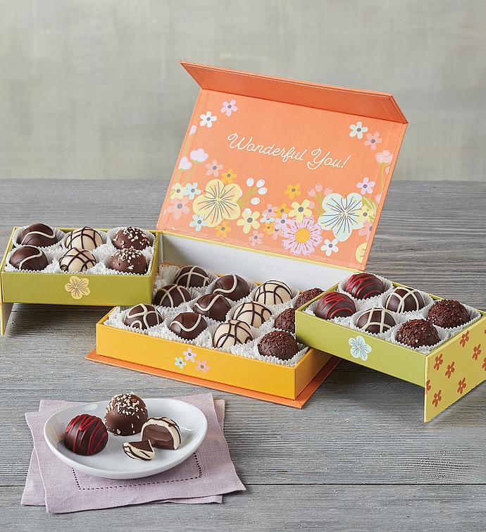 Mothers Day Keepsake Box with Chocolate Truffles