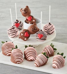 ChocolateCovered Strawberries and Cake Pops