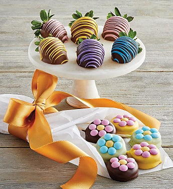 Berries and Sandwich Cookie Bouquet