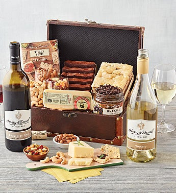Sweet & Savory Chest with Wine
