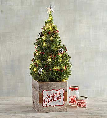 Rustic Christmas Tree