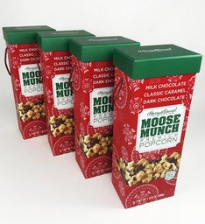Moose Munch Premium Popcorn Holiday Box Set