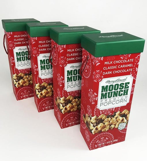 Moose Munch® Premium Popcorn Holiday Box Set