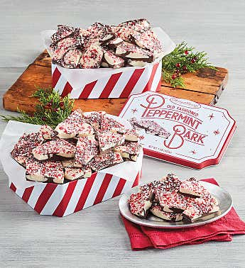 Peppermint Bark Tin Duo