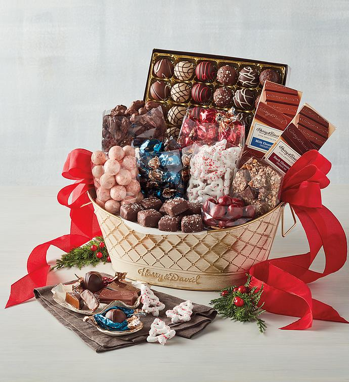 Deluxe Chocolate Gift Basket